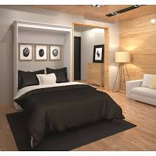 Bed in office Pull Down Costco Wholesale Bestar Audrea Full Wall Bed In White