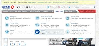 Turkish Airlines Redemption Chart New Citi Transfer Partner Turkish Airlines