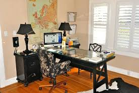 two person home office desk. Two Person Desk Home Office View In Gallery . I