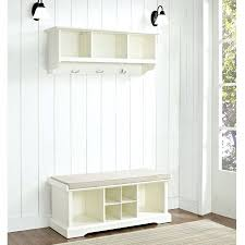 Entrance Bench And Coat Rack benches Hall Benches With Coat Hooks Narrow Hallway Storage Bench 64
