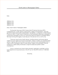 A Formal Letter To The Editor Sample Business Proposal Templated