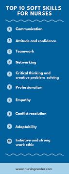 Top 10 Soft Skills Employers Are Looking For Top 10 Soft Skills For Nurses Nursing Blog Lippincott
