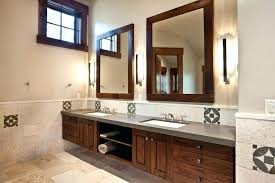 black framed bathroom mirrors. Image Of: Wood Frame Rustic Bathroom Mirrors Black Framed C