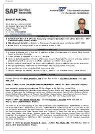 Resume Of Sap Fico Consultant Sap Fico Consultant Sample Resume shalomhouseus 1