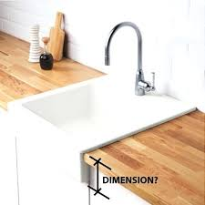 Ikea Apron Front Sink Domsjo54