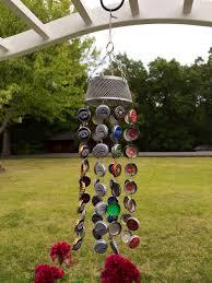 Bottle Cap Decorations Bottle Cap Wind Chime By BottlecapCrafts11000 On Etsy 1100100 Bottle 68