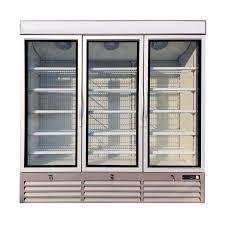 commercial display upright glass door