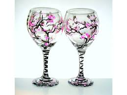 paint your own wine glass work