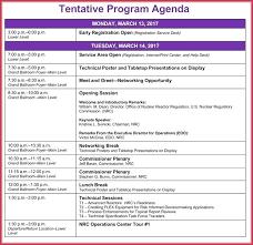 Free Edit Simple Agenda Template Level 10 Meeting Azizim Co