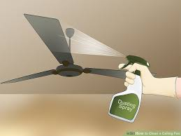 image titled clean a ceiling fan step 12