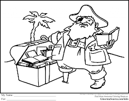 Printable Coloring Pages pirate coloring pages free : Pirate Coloring Page - glum.me