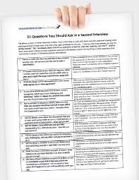 Questions For Second Interview Second Round Interview Questions To Ask Transformation Solutions