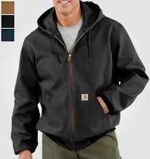 Outerwear Made in USA: All American Clothing & Carhartt Duck Active Jacket Made in the USA Adamdwight.com