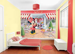 Minnie Mouse Wallpaper For Bedroom Disney Minnie Mouse Wall Mural 41332 Vie Interiors