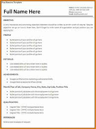 How To Write A Resume With No Job Experience Simple 40 Example Of A Resume With No Job Experience Penn Working Papers