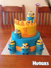 A Minion Cake I Made This Weekend For A Friends Little Boys First