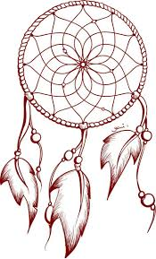 How To Make A Simple Dream Catcher Dreamcatcher clipart easy Pencil and in color dreamcatcher 83