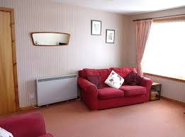 Furniture:Simple Brown Wood Room Heater Near White Rug Also Creative Wall  Decor Lovely Living