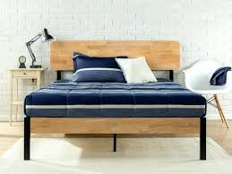 Bed Frames Metal Brothers Sturdy Simple To Hold Any Size Mattress ...