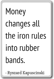 Money Quotes Extraordinary Amazon Money Changes All The Iron Rules Into R Ryszard