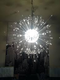 chandeliers ikea stockholm chandelier my sputnik style random spokes instead of following the directions