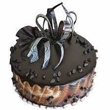 Chocolate Chips Designer Cake Delivery To Kolkata At Midnight
