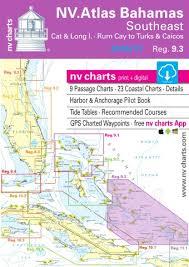 Tide Chart Long Island Bahamas Nv Charts Reg 9 3 Bahamas South East Cat Long Islands