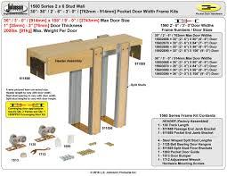 Retrofit Pocket Door Jhusanet Sliding Folding Pocket Door Hardware Johnson Hardware