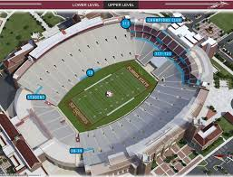 Doak Campbell Seating Chart Rows Accessible Gameday Florida State Seminoles College Football