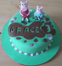 Peppa Pig Birthday Cake Ideas Cutebirthdaycakega