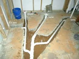 shower vent name views size drain plumbing requirements
