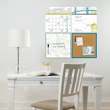 on peel and stick wall art for dorms with globe trotter organization kit dry erase decals wallpops
