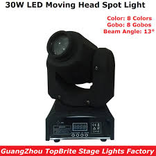 Inno Light Us 115 5 Eyourlife Led Inno Pocket Spot Mini Moving Head Light High Brightness 30w Led Moving Head Stage Lights For Party Dj Laser Shows In Stage