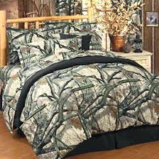 realtree bedding sheets full camo twin