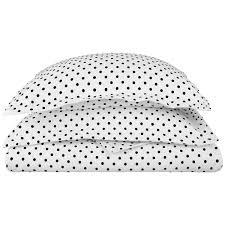 superior 600 thread count polka dot cotton blend duvet cover set free on orders over 45 com 16245595