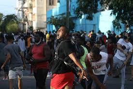Cuba sees biggest protests for decades ...