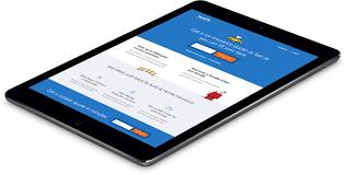 screenshot image of responsive metlife auto homepage viewed on an ipad