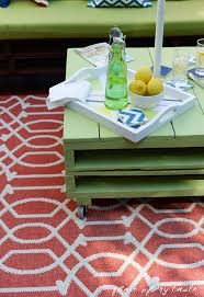 pallet furniture patio. Diy Pallet Furniture Patio Makeover, Diy, Outdoor Furniture, Living, Painted O