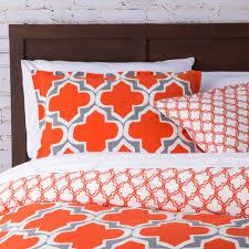 mercury row tangier quatrefoil comforter set