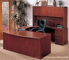 attractive wooden office desk. Bina Discount Office Furniture: U Shape Wood Suite, Long Pertaining To Attractive House Wooden Desk Ideas