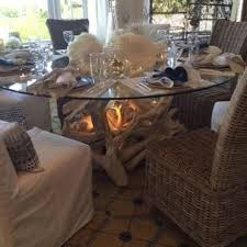 bases for round glass dining tables. hampton driftwood dining table base for 60\ bases round glass tables s