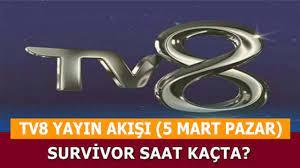 TV8 Yayın Akışı 5 Mart 2017 Pazar TV8 Canlı Yayın - My Memur