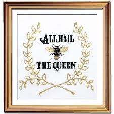 Queen Bee Colour Chart Queen Bee Cross Stitch Pattern