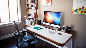 home office in bedroom. Not Every Home Has Room For An Office, And Often Times A Office Means Giving Up Another Practical Space. Creative Director Filmmaker In Bedroom B