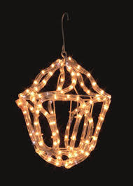 uk gardens warm white rope light lantern indoor or