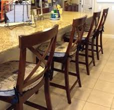 update your counterstool with new seat cushion cover by britta leigh