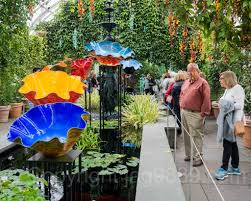 macchia forest 2017 within the haupt conservatory dale chihuly exhibit at the new