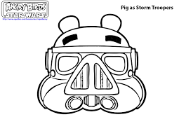 Small Picture Angry Bird Coloring Page Angry Birds Star Wars Coloring Pages