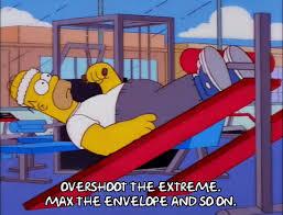 Kuvahaun tulos haulle Homer Simpson gym workout