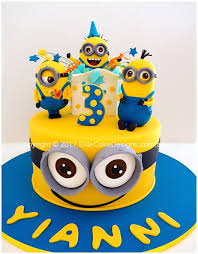 Exciting Minions Kids Birthday Cake Design In Sydney Birthday